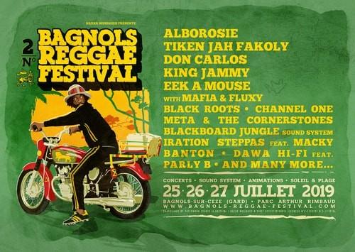 Bagnols Reggae Festival Flyer
