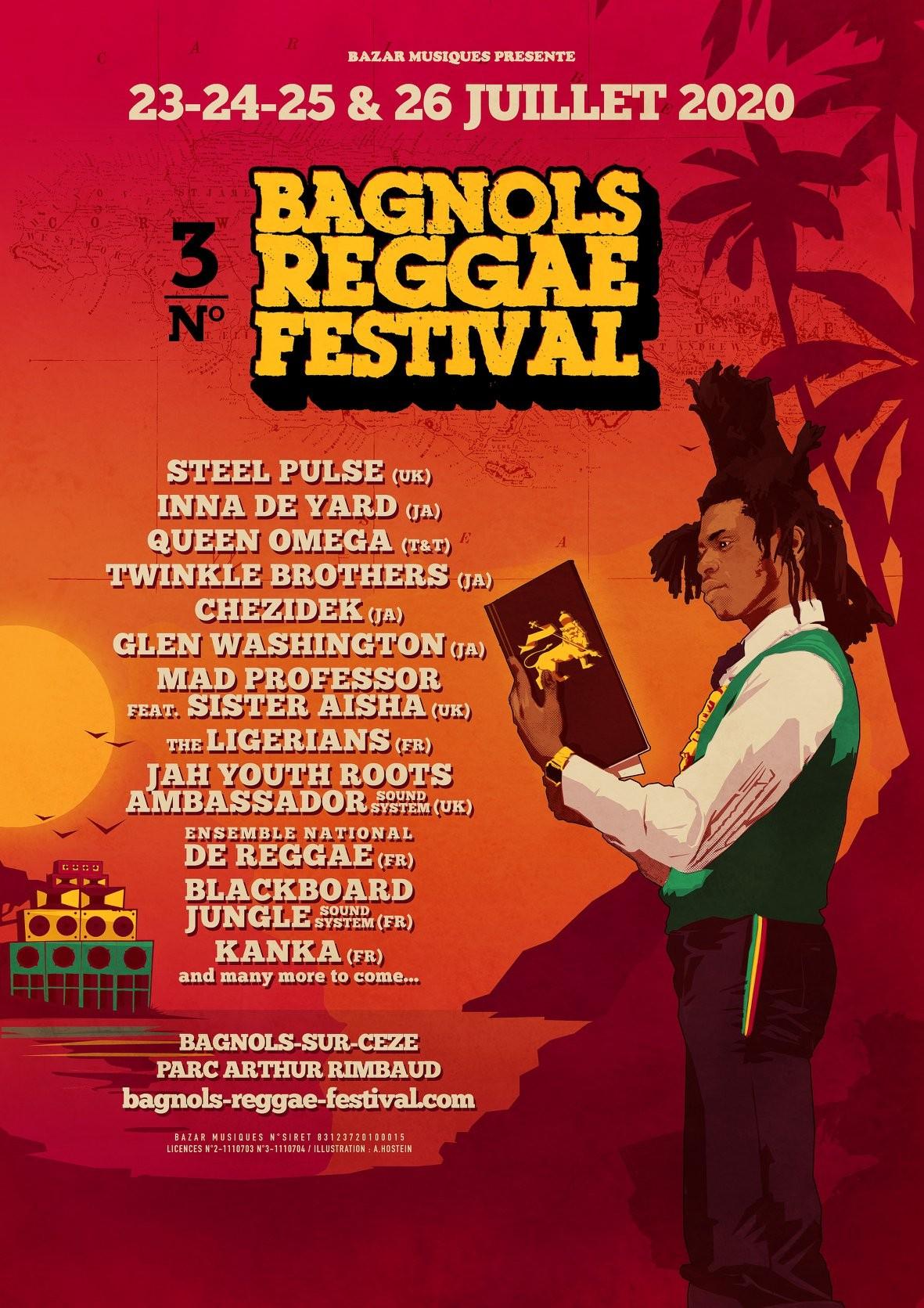 Bagnols Reggae Festival 3, les premiers noms