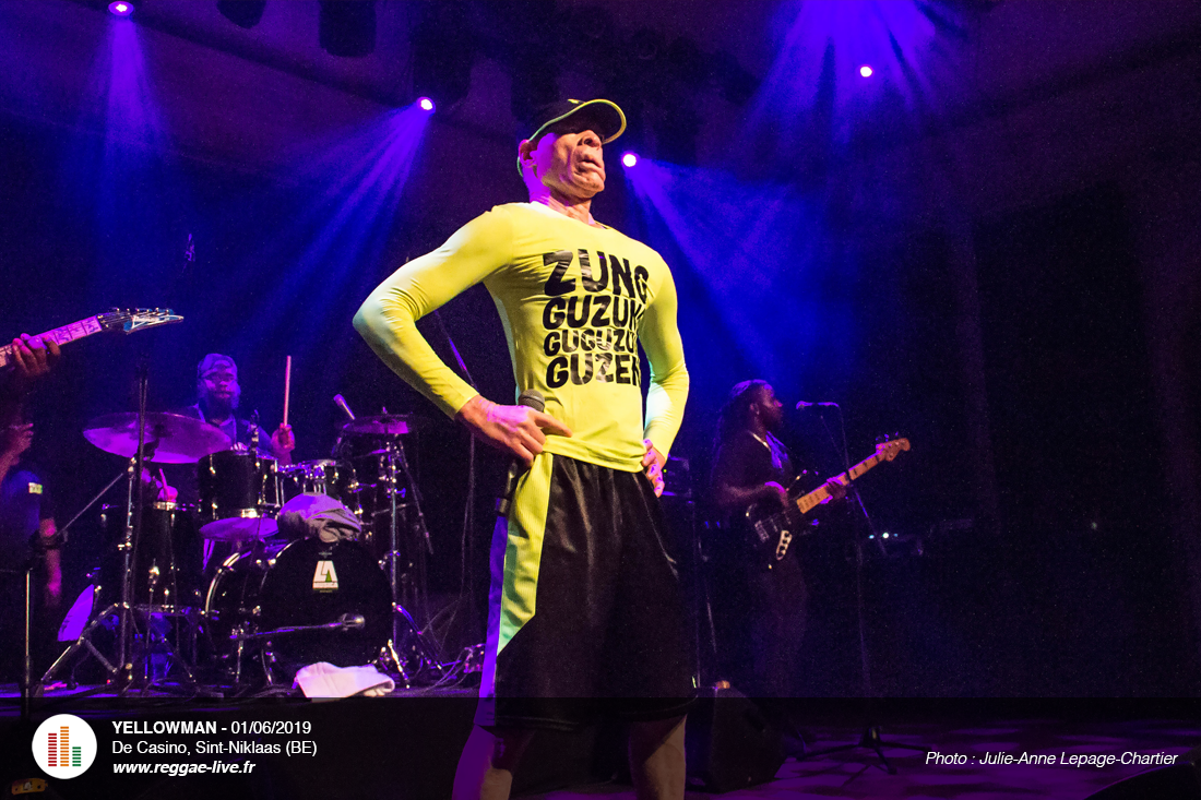 Yellowman à De Casino, Sint-Niklaas