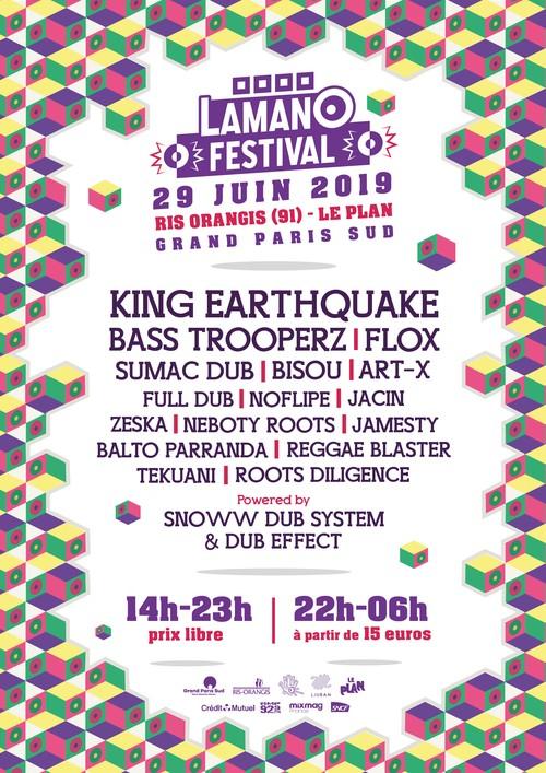 Programmation du Lamano Festival 2019